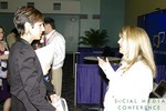 Networking at the January 19-21, 2011 Miami Social  Conference