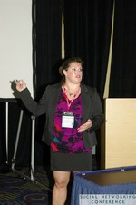 Lovisa Williams (Deputy Dir, Office of Innovative Engagement at the US State Department) at SNC2011 Miami