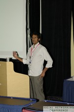 Professor Raj Raghunathan (University of Texas at Austin, McCombs School of Business) at the 2011 Social  Conference in Miami