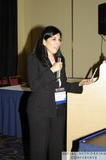 Julie Cocuy (Online Strategy Manager, Microsoft LATAM) at Miami SNC2011