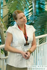 Networking at the January 19-21, 2011 Enterprise Social  Conference in Miami