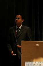 Sitram Asur (Hewlett Packard Labs) at the January 19-21, 2011 Enterprise Social  Conference in Miami