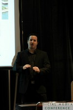 Chris Harvin (Partner at Sanitas International) at SNC2011 Miami