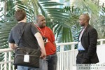 Networking at the 2011 Miami Enterprise Social  Conference