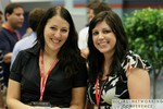 Business Networking in the Exhibit Hall at the 2011 Social  Conference in Miami