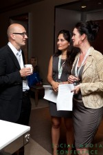 Networking at 2011 Beverly Hills